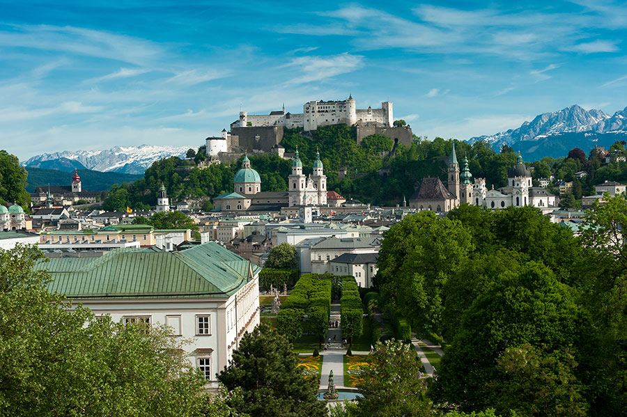 Just a stone's throw to the Old Town of Salzburg